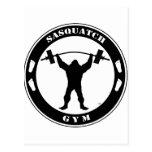 Sasquatch Gym Postcard