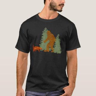 Sasquatch + Honey Badger + Love = Squatchy Badger T-Shirt