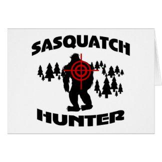 Sasquatch Hunter Card