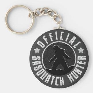 Sasquatch HUNTER Circle logo Keychain