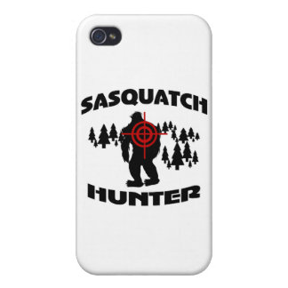 Sasquatch Hunter iPhone 4/4S Cases