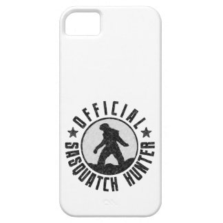 Sasquatch Hunter - Official Circle Logo iPhone 5 Covers