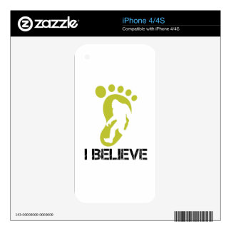 Sasquatch- I Believe Decals For The iPhone 4
