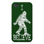 Sasquatch I Believe (distressed) iPhone 4/4S Cover