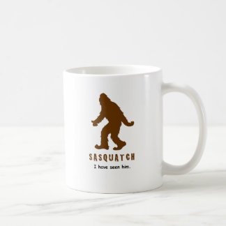 Sasquatch - I have seen him Classic White Coffee Mug