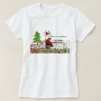 sasquatch in a wheelchair T-Shirt