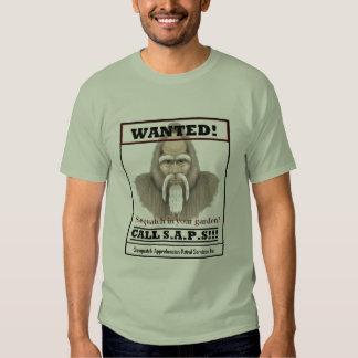 Sasquatch in your garder shirt