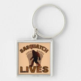 Sasquatch Lives Keychain