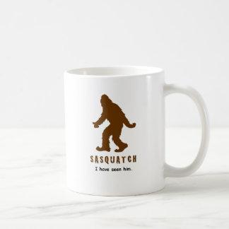 Sasquatch - lo he visto taza de café
