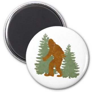 Sasquatch Fridge Magnet