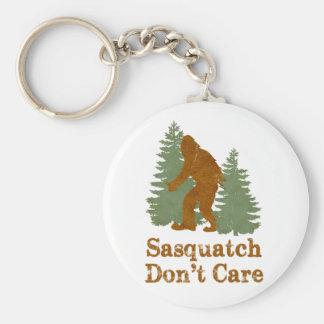 Sasquatch no cuida llaveros