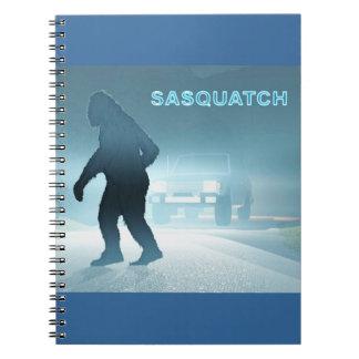 Sasquatch Spiral Note Book