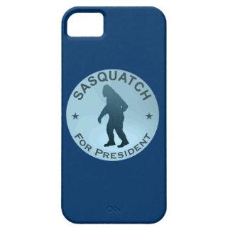 Sasquatch para el presidente iPhone 5 Case-Mate protectores