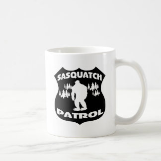 Sasquatch Patrol Forest Badge Classic White Coffee Mug