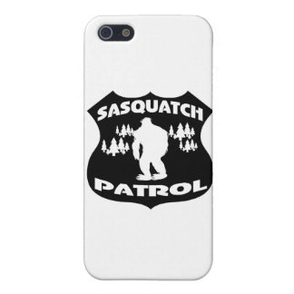 Sasquatch Patrol Forest Badge iPhone SE/5/5s Case