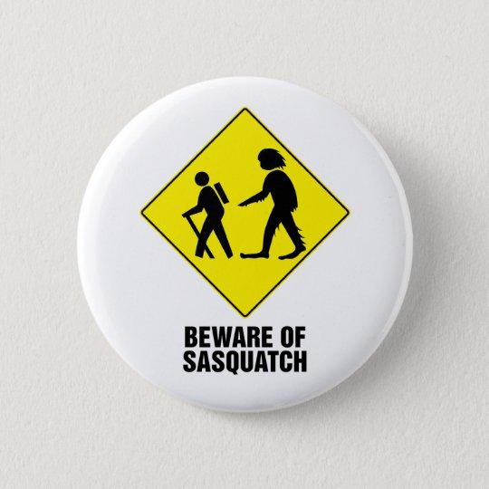 Sasquatch Pinback Button