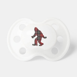 SASQUATCH PLAID PACIFIER