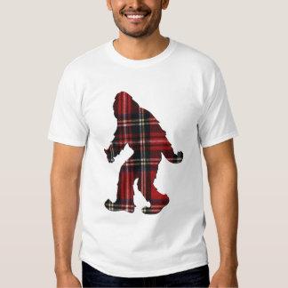 Sasquatch Plaid T-shirts