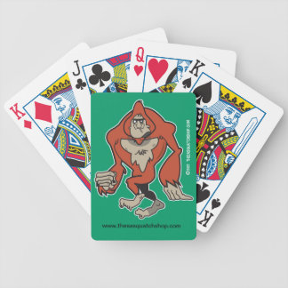 Sasquatch Playing Cards