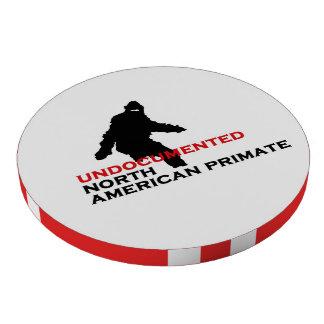 Sasquatch: Primate norteamericano indocumentado Fichas De Póquer