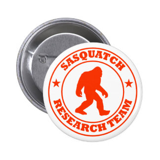 SASQUATCH RESEARCH TEAM - Bigfoot Pro s Red Logo Pins