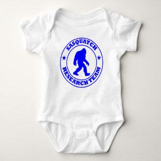 SASQUATCH RESEARCH TEAM - Bigfoot Pro's Blue Logo Baby Bodysuit