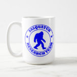 SASQUATCH RESEARCH TEAM - Bigfoot Pro's Blue Logo Coffee Mug