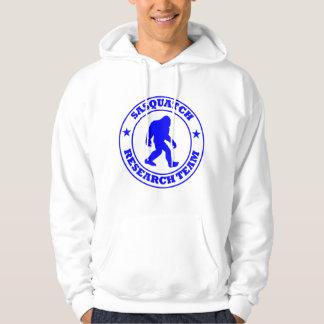 SASQUATCH RESEARCH TEAM - Bigfoot Pro's Blue Logo Hoodie