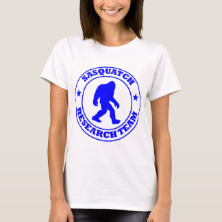 SASQUATCH RESEARCH TEAM - Bigfoot Pro's Blue Logo T-Shirt