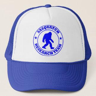 SASQUATCH RESEARCH TEAM - Bigfoot Pro's Blue Logo Trucker Hat