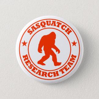 SASQUATCH RESEARCH TEAM - Bigfoot Pro's Red Logo Pinback Button