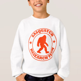 SASQUATCH RESEARCH TEAM - Bigfoot Pro's Red Logo Sweatshirt