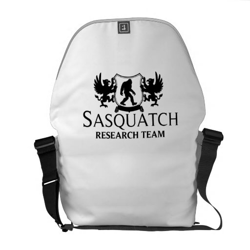 Sasquatch Research Team Courier Bags
