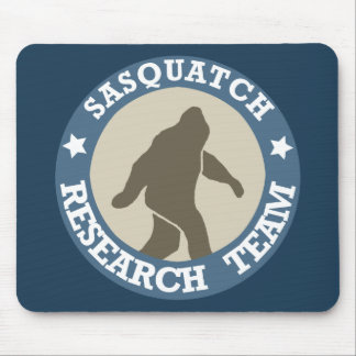 Sasquatch Research Team Mouse Pad