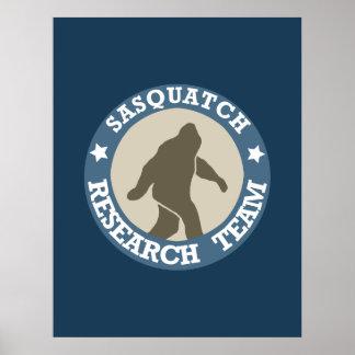 Sasquatch Research Team - Poster