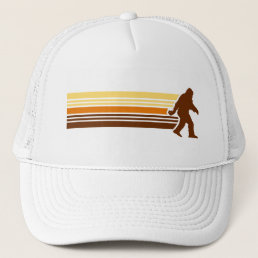Sasquatch Retro Mesh Trucker Hat