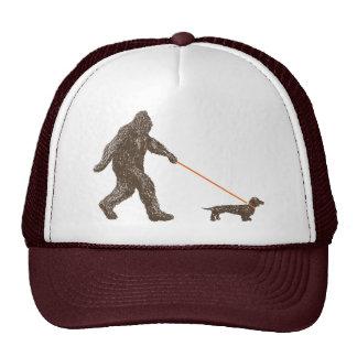 Sasquatch s Best Friend Mesh Hats