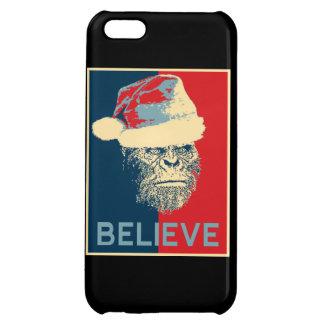 Sasquatch Santa Believe iPhone 5 Case