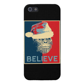 Sasquatch Santa cree el caso del iPhone 5 iPhone 5 Carcasa