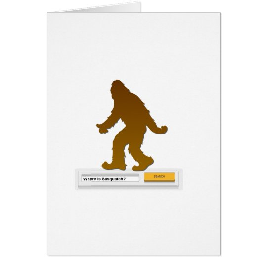 Sasquatch Search Engine Card