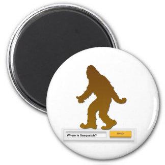 Sasquatch Search Engine Fridge Magnets