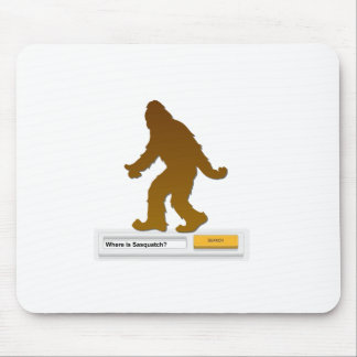 Sasquatch Search Engine Mouse Pad