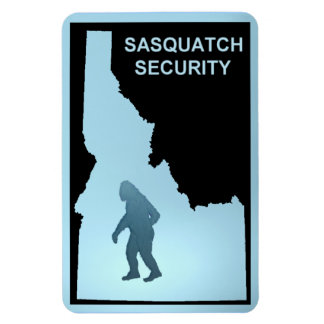 Sasquatch Security - Idaho Magnet