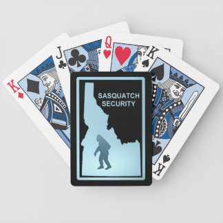 Sasquatch - Security - Idaho Playing Cards