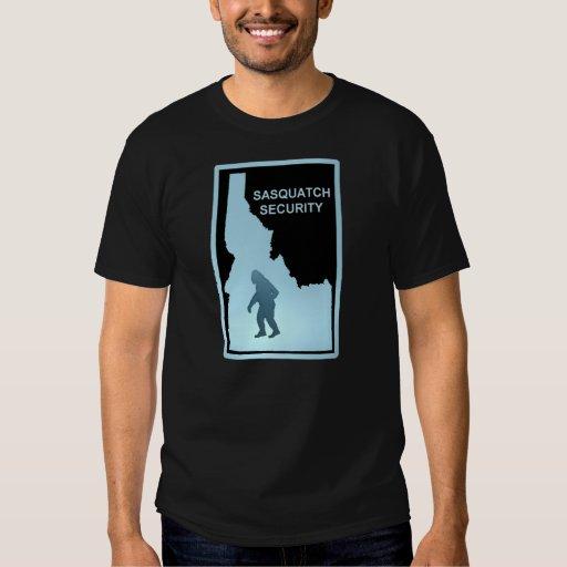 Sasquatch Security - Idaho T Shirts