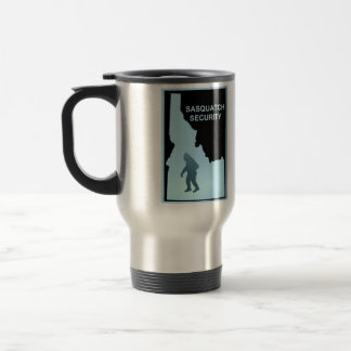 Sasquatch Security - Idaho Travel Mug