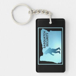Sasquatch Security - Oregon Keychain