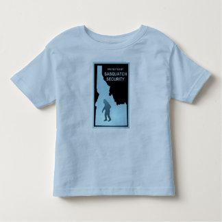 Sasquatch Security Toddler T-shirt