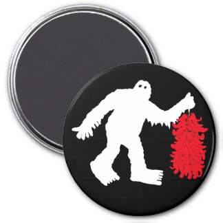 Sasquatch Sighted in Hatch, New Mexico Magnet