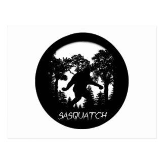 Sasquatch Silhouette Post Cards